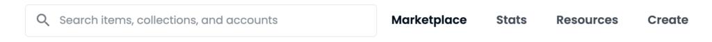 OpenSeaでNFTを出品する手順